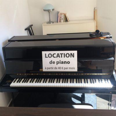 Pianos en location